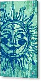 Sol -aqua Acrylic Print