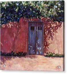 Acrylic Print featuring the painting Solace by Ann Peck
