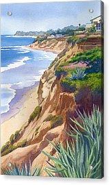 Solana Beach Ocean View Acrylic Print