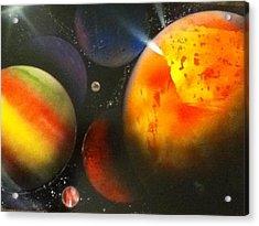 Solar Acrylic Print by Angel Griffin