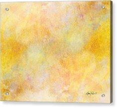Solar Heat Abstract Art Acrylic Print by Ann Powell