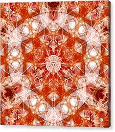 Solar Hypercube Acrylic Print
