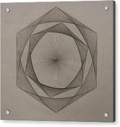 Solar Spiraling Acrylic Print by Jason Padgett
