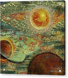 Solar Symphony Acrylic Print