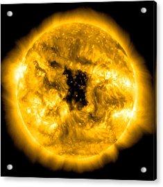 Solarwatcher Acrylic Print by Sunny Day