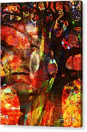 Sold Into A Forced Marriage Acrylic Print by Fania Simon