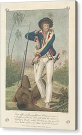 Soldier And A Dead Native Acrylic Print