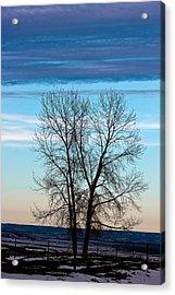 Soldier Creek Sunset Acrylic Print