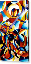 Sole Musician Acrylic Print