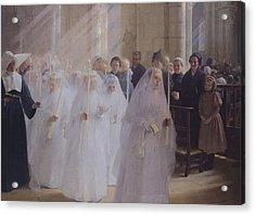 Solemn Communion Acrylic Print