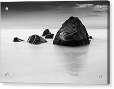 Solid And Ethereal Acrylic Print by Alex Conu