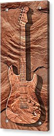 Solid As A Rock Panoramic Acrylic Print by Mike McGlothlen