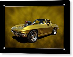Acrylic Print featuring the photograph Solid Gold by Keith Hawley