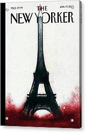 Solidarite Acrylic Print by Ana Juan