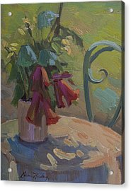 Soliel Provence Acrylic Print by Diane McClary