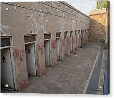 Solitary Confinement Cells Acrylic Print