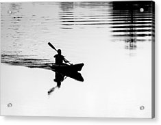 Acrylic Print featuring the photograph Solitary by Edgar Laureano