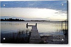 Solitude Acrylic Print by Alison Tomich