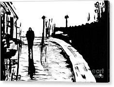 Solitude Acrylic Print by Alys Caviness-Gober