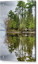 Solitude At Pinheys Point Ontario Acrylic Print by Rob Huntley