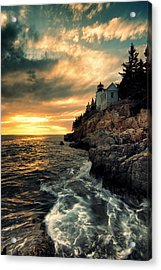 Solitude Acrylic Print by Chad Tracy