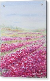 Acrylic Print featuring the painting Solitude by Jane  See