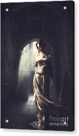 Solitude Acrylic Print by Lee-Anne Rafferty-Evans