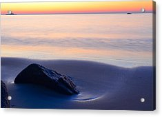 Solitude Singing Beach Acrylic Print
