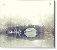 Solitude Of Winter Acrylic Print by Jessica Jenney