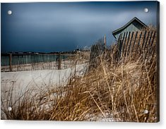 Solitude On The Cape Acrylic Print by Jeff Folger