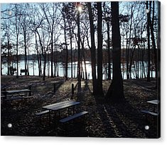 Acrylic Print featuring the photograph Solitude by Fortunate Findings Shirley Dickerson