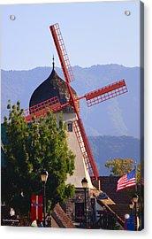 Solvang Windmill Acrylic Print