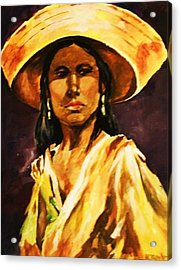 Sombrero Ll Acrylic Print by Al Brown