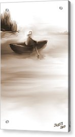 Some Alone Time Acrylic Print