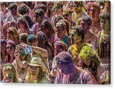 Some Colorful People Acrylic Print