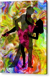 Some Like It Hot 1 Part 2 Acrylic Print