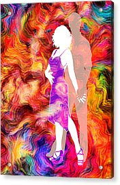 Some Like It Hot 2 Acrylic Print by Angelina Vick