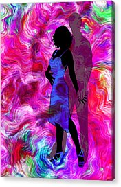 Some Like It Hot 2 Part 2 Acrylic Print by Angelina Vick