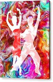 Some Like It Hot 3 Acrylic Print by Angelina Vick