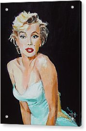 Some Like It Hot Acrylic Print by Judy Kay