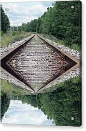 Somedays Its A Topsy Turvy Day Acrylic Print by Thomas Woolworth