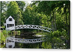 Somesville Bridge Acrylic Print