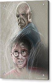 Something Wicked Acrylic Print by Jason Longstreet