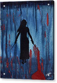 Something Wicked This Way Comes Acrylic Print by Jim Stark