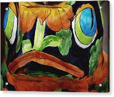 Somethings Fishey Acrylic Print