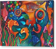 Something's Fishy Acrylic Print