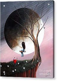 Sometimes She Just Wants To Be Alone By Shawna Erback Acrylic Print by Shawna Erback