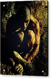 Sometimes You Have To Go Down In The Mud Acrylic Print by Gun Legler
