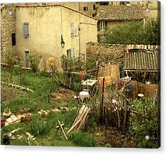 Acrylic Print featuring the photograph Somewhere In France by Colleen Williams