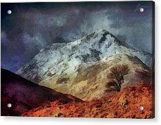 Somewhere In Scotland Acrylic Print by Marina Likholat